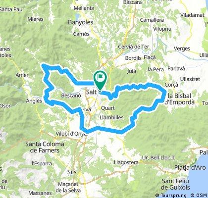 102km Girona loop