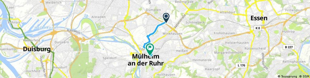 Linie 133 Heitkamp Mülheim HBF