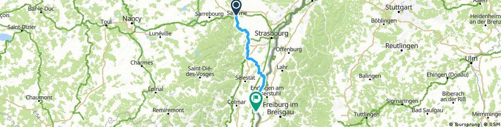 D 027: Saverne - Breisach