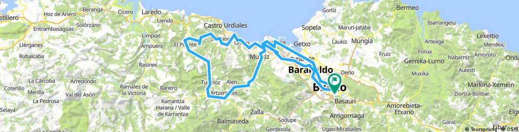 5 Excursión Amistad Bilbao 2018 - (A 3)- (carril bici)