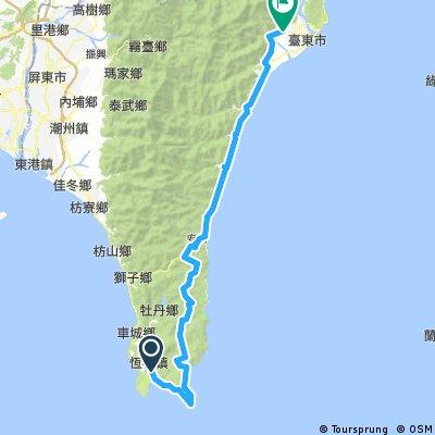 銅人7天環台 DAY4