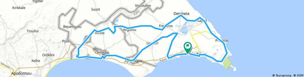 Ayia Napa 83 km