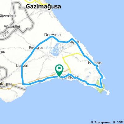 Sandy Bay 48 km