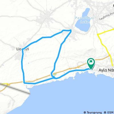 28 km Sandy Bay