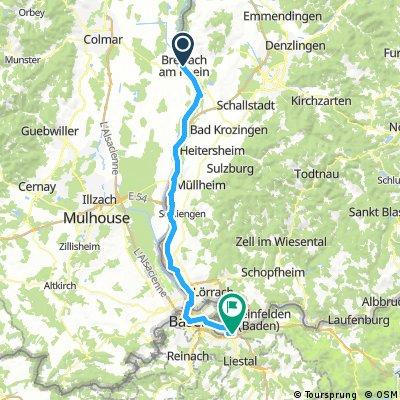 D 028: Breisach - Kaiseraugst