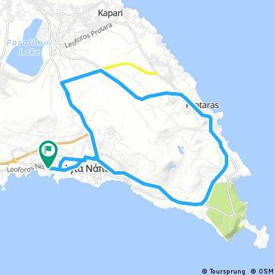 27 km Sandy Bay going east