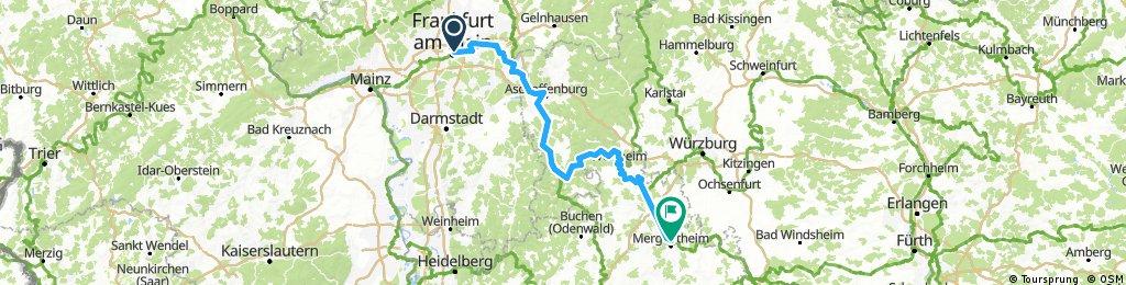 Bad Homburg - Ulm  Tour 1