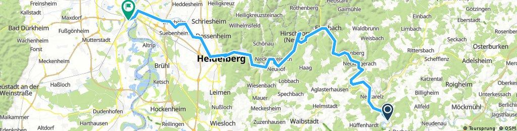 2. Haßmersheim - Ludwigshafen 92