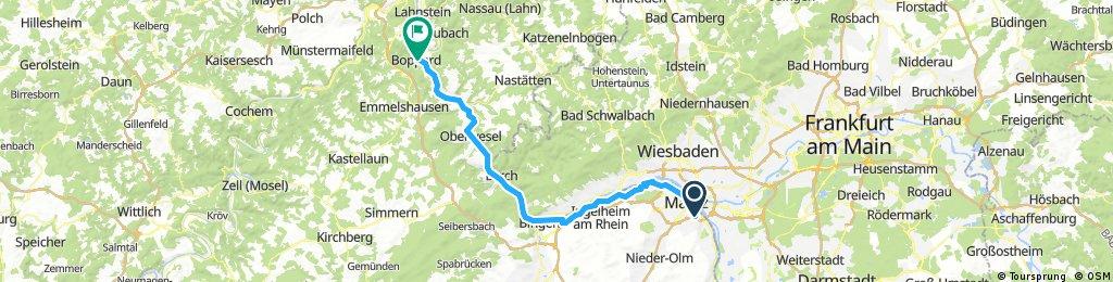 4. Mainz - Boppard 74km