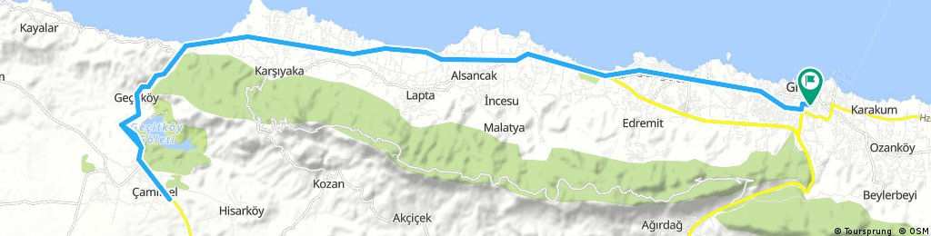 First route for me in kyrenia