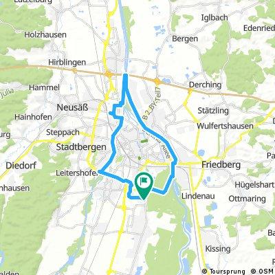 E-Bike rund um Augsburg