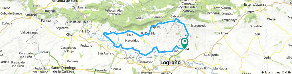 Viana - Aras - Codés - San Vicente - Oyón - Viana