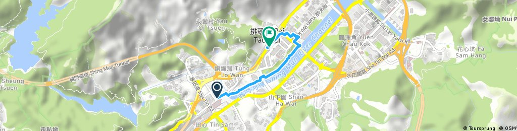 Brief ride from Pastviny to Sha Tin
