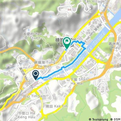 Brief ride from Pastviny to Sha Tin
