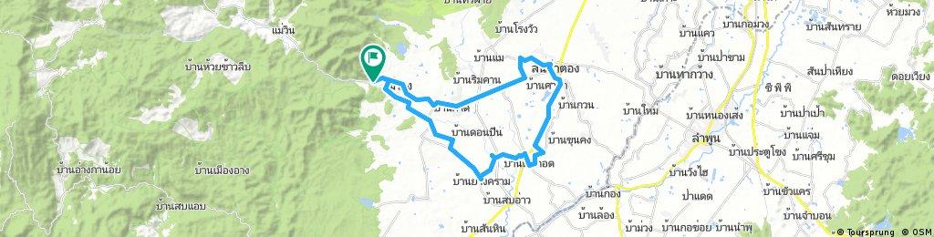 Handicrafts route - San Pa Tong (Chiang Mai)