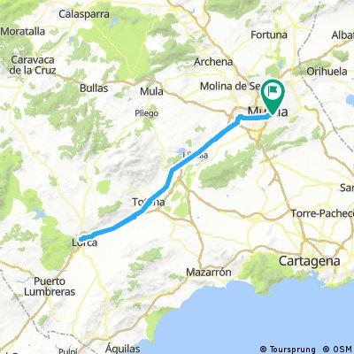 Castillo de Lorca 3-2-2018