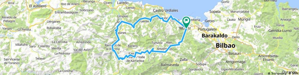 Recorrido: Excursión Amistad Bilbao 2018 - 7