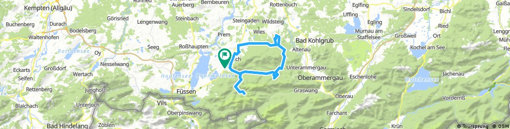 E-Bike Buching Unternogg Kenzenhütte