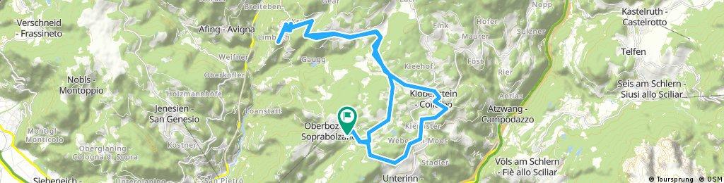 E-Bike Oberbozen Wangen