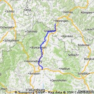 Radfernweg Main-Werra