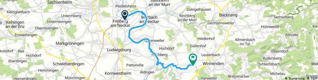13. Freiberg am Neckar - Schwaikheim