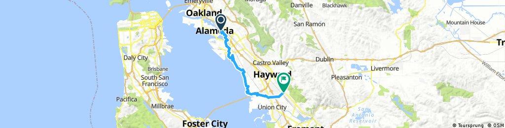 Bayshore S. Hayward BART
