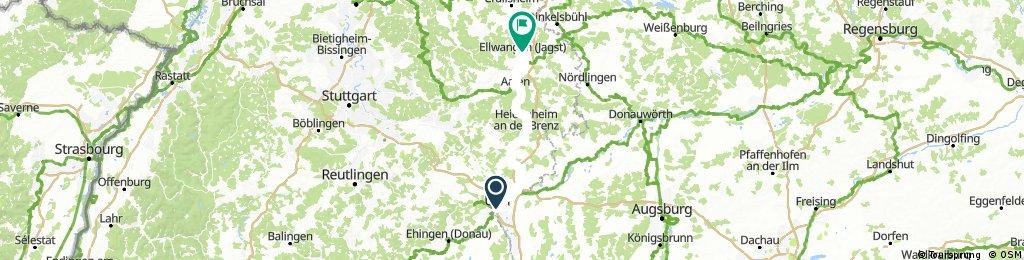 D 031: Ulm - Ellwangen