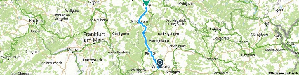 D 033: Würzburg - Fulda