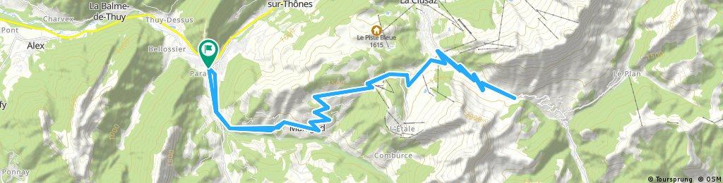 Col de la Croix Fry and Col des Aravis