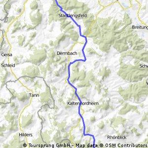 Radwanderweg Feldtalradweg