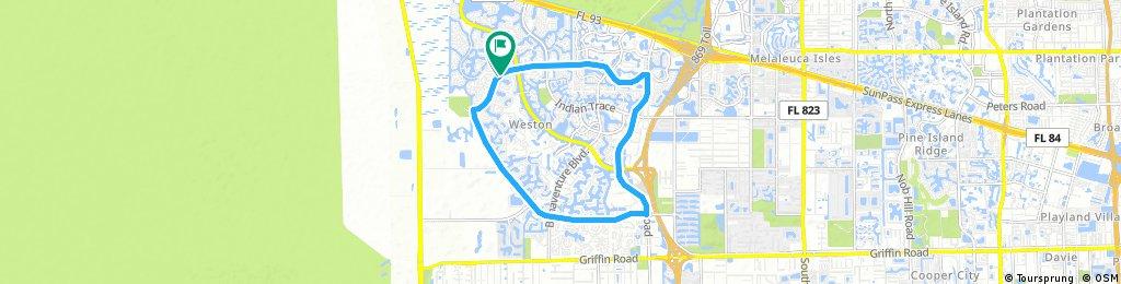 morning bike ride (long route)