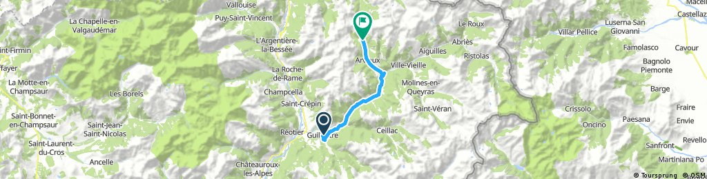 In Alps - Tacx virtual