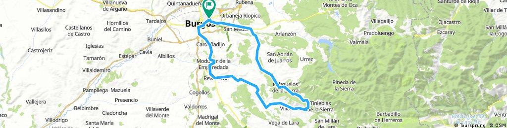 Burgos - Villamiel de la Sierra