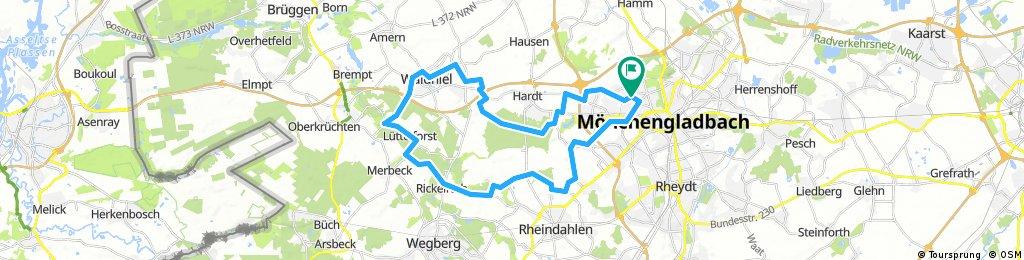 Mönchengladbach und Umgebung
