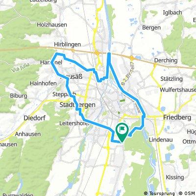 E-Bike Lech Neusäß Stadtbergen