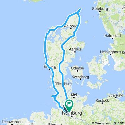 Dänemark umrunden