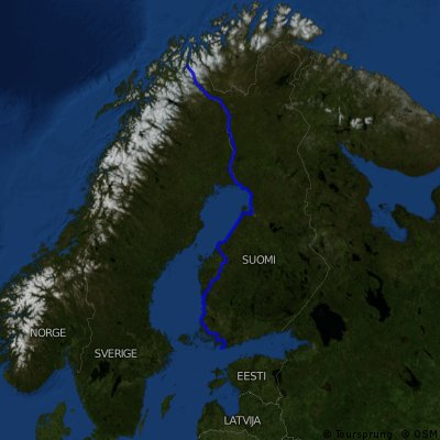 Hanko - Jäämeri