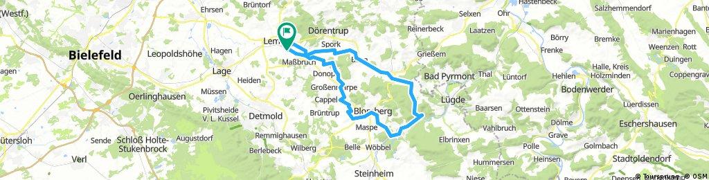 MTB Schieder, Glashütte (Schlechtwettertour V3)