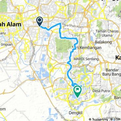 Subang to Putrajaya