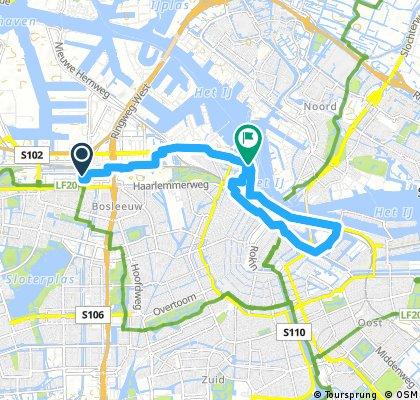 Amsterdam Sloterdijk to Central