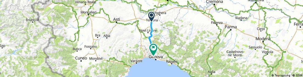 Tortona - Genova (1st day)