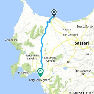 Porto Torres - Alghero (2nd day)