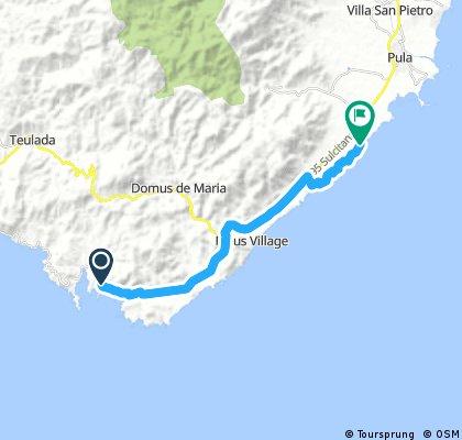 Tuerredda beach - Santa Margherita di Pula (7th day)