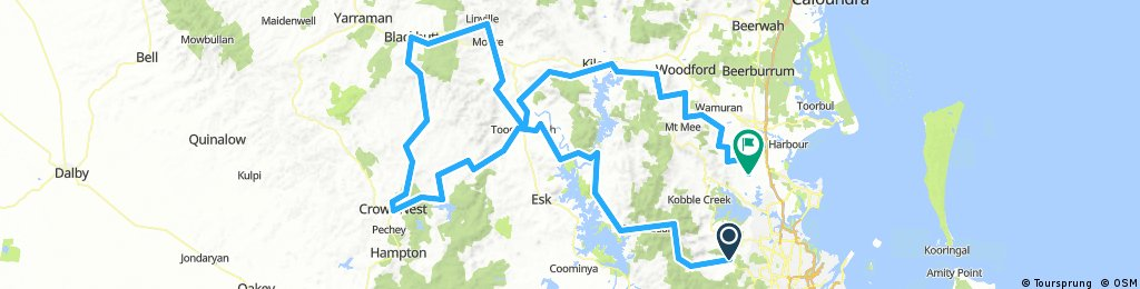 Crowsnest Blackbutt day Ride