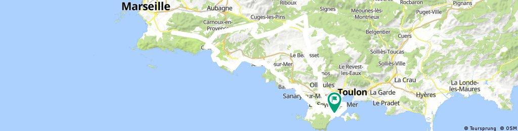 Les Crêtes - Cassis - La Gineste - CHCV Sanary - 4 Février 18