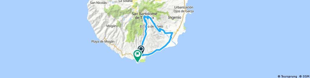 Maspalomas - San Bartolome - Santa Lucia - Maspalomas