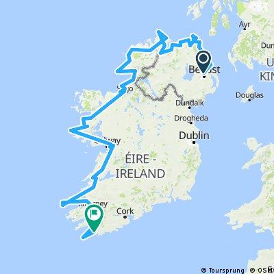 Belfast - Cork ¡Irlanda en 27 días!