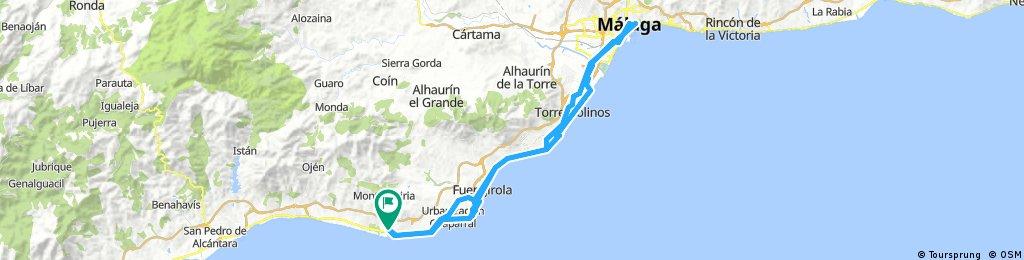 Vime - Malaga si retur