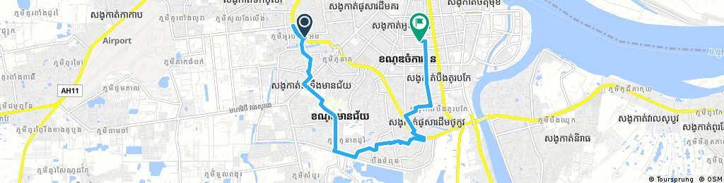 10KM Daily In The Morning to Tuol Slaeng