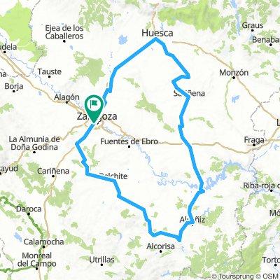 Brevet Randonneur 400K Zaragoza 2019